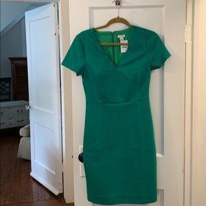 NWT Green JCrew Dress